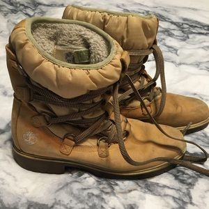 Timberlands winter boots